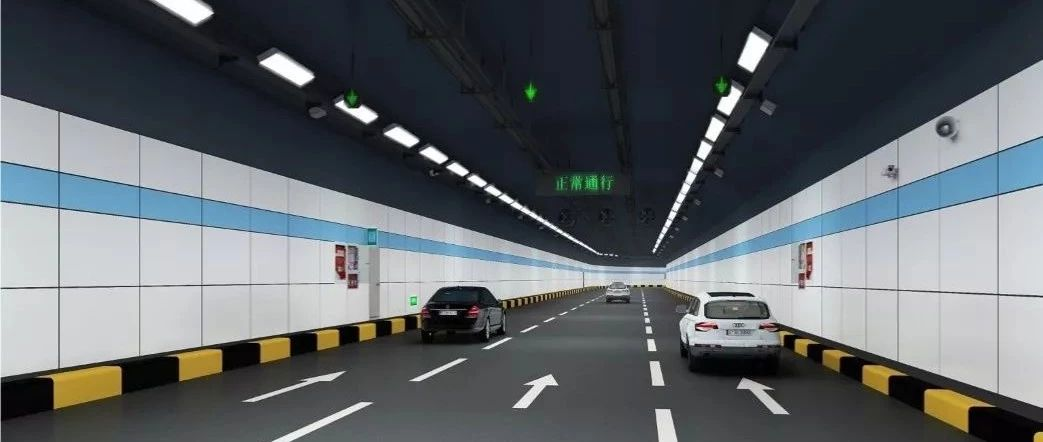 即将开建!赣州首条过江隧道来了 效果图出炉
