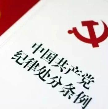 【纪检监察】永德县原疾控中心主任杨庆武严重违纪违法被开除党籍和公职