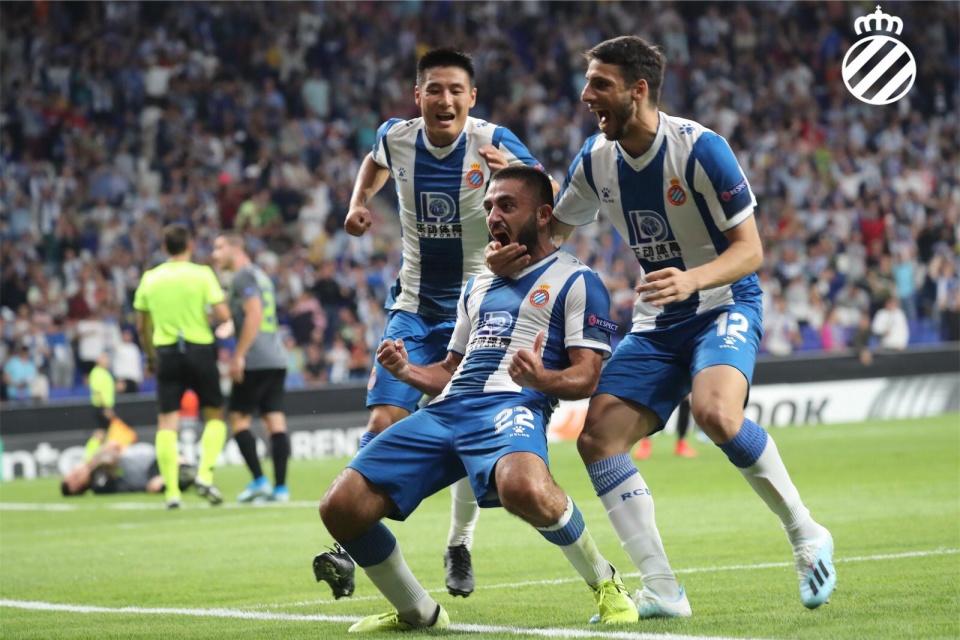 西班牙人结束欧联杯首战,武磊队内评分最低,不能理解
