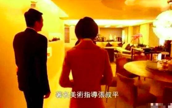香港寸土寸金,但向华强陈岚的豪宅却奢华像宫殿,健身房像停车场