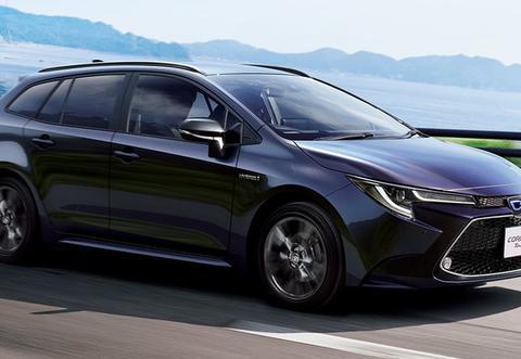 新一代日规丰田卡罗拉瘦身登场,车宽和轴距都减少