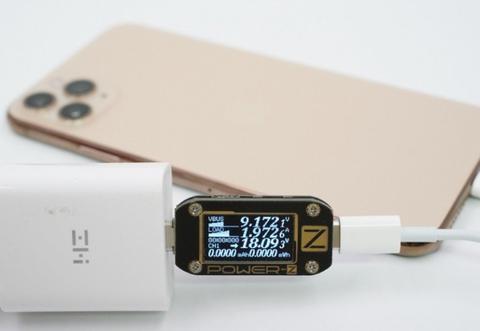 实测iPhone 11 Pro Max充电器体验 最高支持30W快充