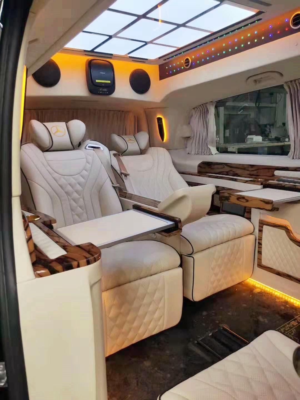 奔驰威霆升级内饰,六座配隐藏座椅,豪华商务舱从此刻开始体验