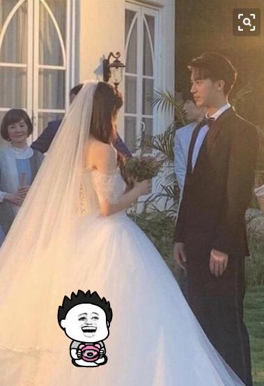 中国版《浪漫满屋》杀青,杨超越许魏洲结婚照曝光,眼神都甜甜的