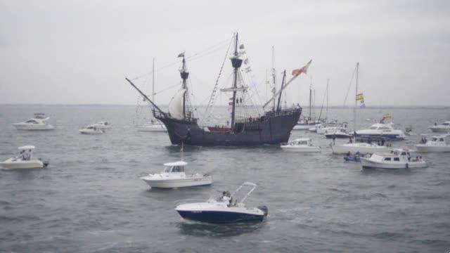 纪念人类首次环球航行500周年 西班牙举行庆祝活动