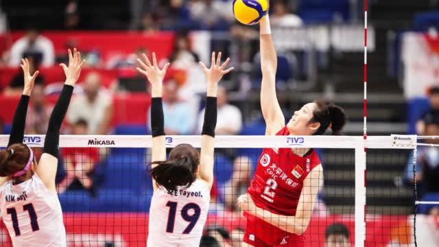 中国女排第一阶段全回顾:中国女排3-0韩国女排集锦