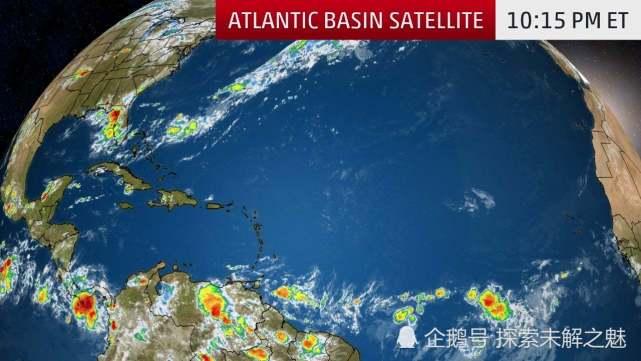 """继续""""睡觉""""!本周大西洋飓风季节依然平静,干燥空气是罪魁祸首"""