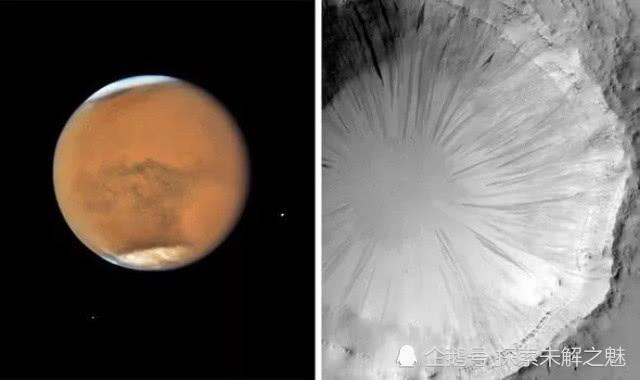"""视觉错觉?火星上有一朵""""蒲公英""""花,NASA给出完美解释"""