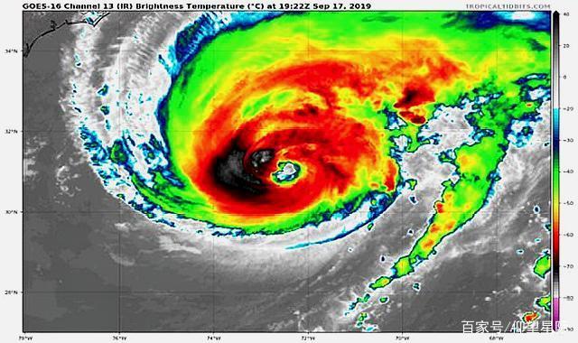 """擦边了!3级飓风温贝托""""踏足""""百慕大,另一场风暴紧随其后"""
