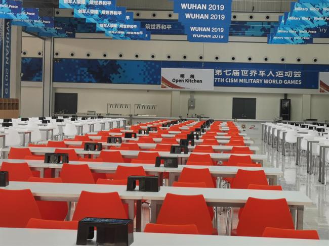美尼美定制家具武汉分厂全力备战第七届世界军人运动会