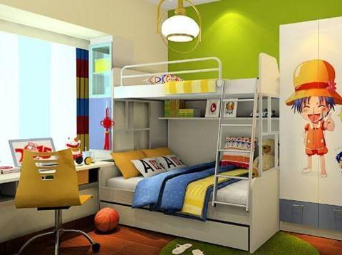 儿童房设计美感爆棚,孩子入住头晕,童年莫让甲醛陪伴