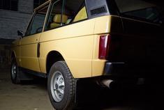 1982款 路虎揽胜 路虎的设计精髓都在了 高雅冷峻的工业风格