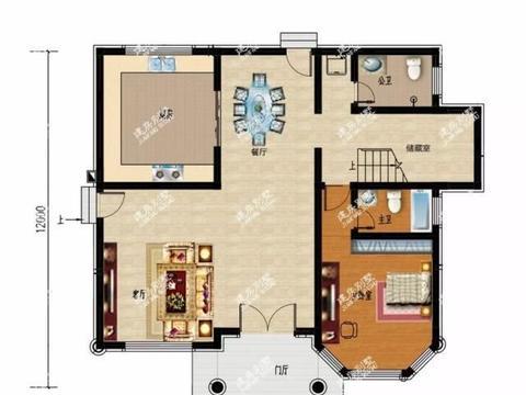 开间13米的两栋自建房别墅,第二栋是带地下室的豪宅