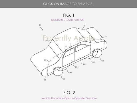 苹果自动驾驶技术再发力 泰坦项目获两项新专利