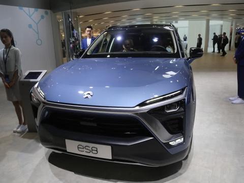 蔚来ES8,高性能智能电动旗舰SUV,将亮相深圳十一车展!