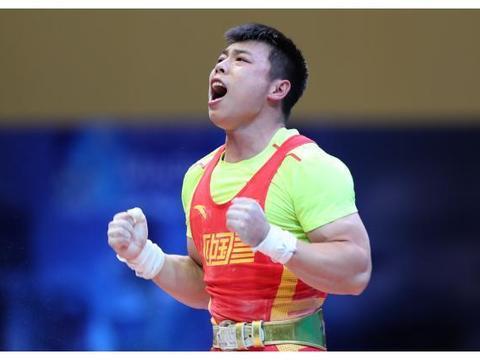 举重|世锦赛:谌立军男子67公斤级总成绩夺冠