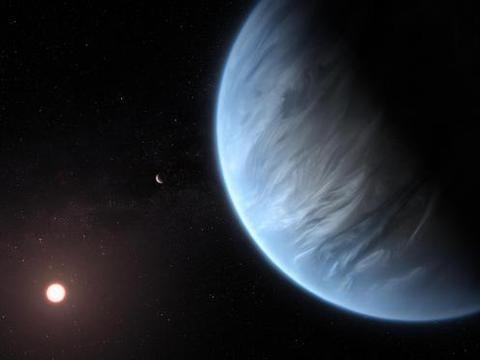 寻找外星生命迈出最大一步,111光年处发现含液态水星球
