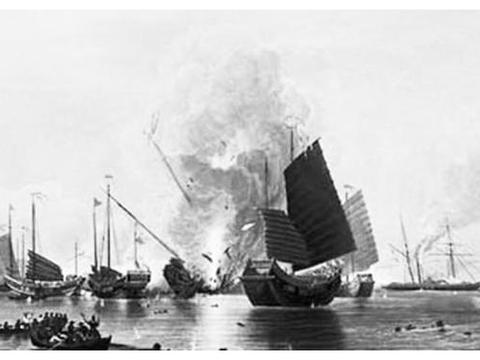 鸦片战争中,英军舰队入侵中国,清军数千门大炮难道是摆设吗