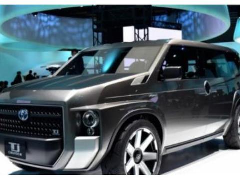 新能源汽车丰田TjCruiser,降低了油耗,响应节能减排政策