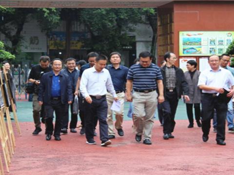 人社部人事管理司副司长梁江一行赴东坡区调研人事人才工作