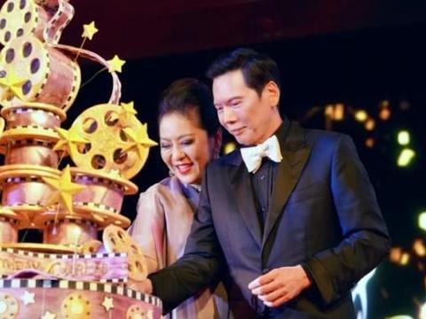 向华强70大寿,刘德华现场表现惹哭向太,网友:就该你红37年