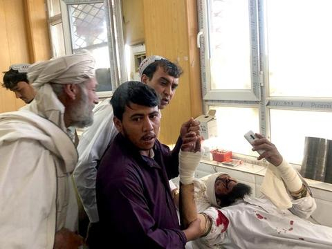 医院外汽车炸弹爆炸 攀升至39死140伤!阿富汗1周91人亡