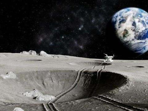 传来好消息,月球背面发现神秘物质,传回照片震动全球航天局!