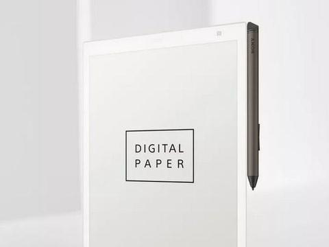 索尼新款电子纸DPT-CP1上线:厚5.9mm,重240g