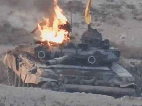 俄军承认T90根本挡不住陶式,要对付反坦克导弹,美军都学以色列