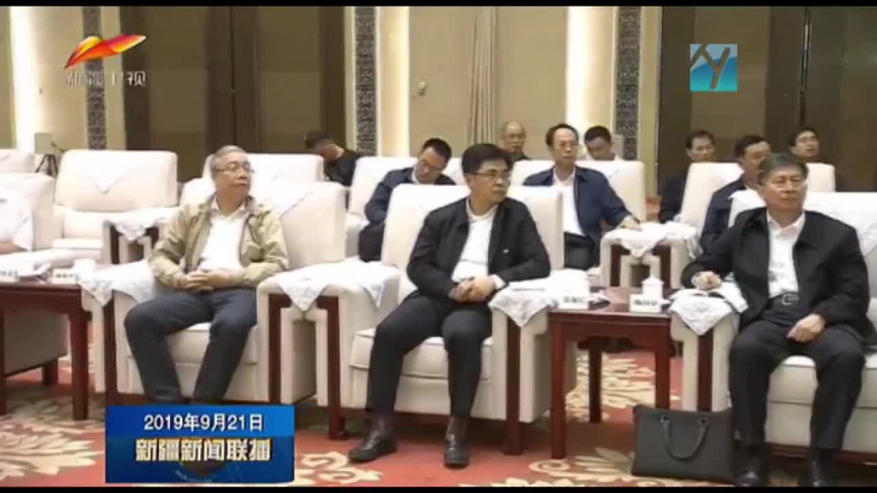 福建省代表团来疆考察对口支援工作