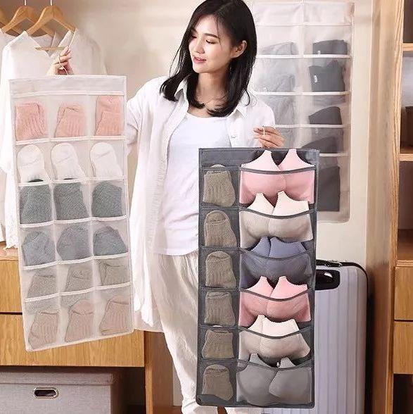 内衣裤袜子,细菌互窜,乱成团?1件衣服的空间,把这些收纳的井井有条!