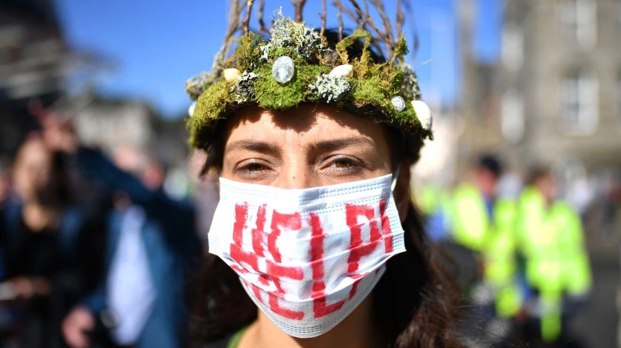 全球大罢工 呼吁各国政府应对气候变化