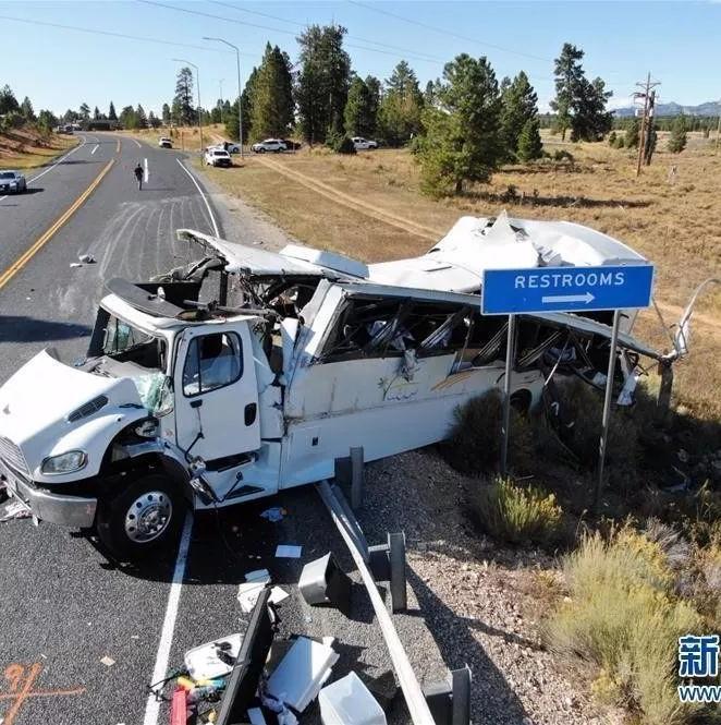 突发!中国赴美旅游团发生严重车祸!4人死亡,12至15人严重受伤!