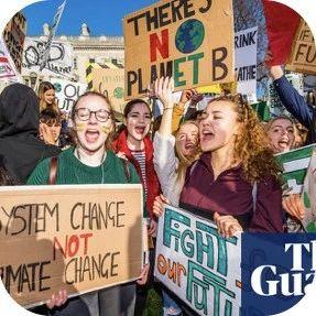 数以万计澳洲学生为了环保而罢课街头抗议...然而很多只是为了逃学???