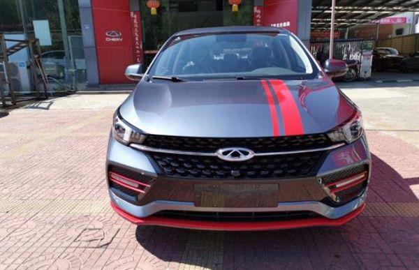 全新奇瑞艾瑞泽GX冠军版到店实拍,红灰双色车身,配1.5L自吸!