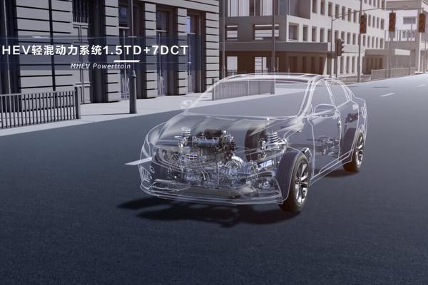 视频:汽车视频:吉利博瑞MHEV(BSG)技术解析