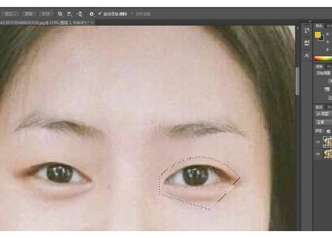 这双眼皮居然是ps出来的?ps大神在线教你ps制作双眼皮!仅需2步