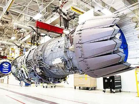 中美俄航空发动机推力对比:美推力22吨俄18吨,那中国呢?