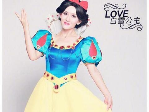 娱乐圈4位明星的白雪公主造型:娜扎最水灵,王宝强辣眼!
