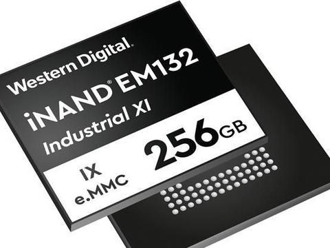 西部数据发布首款嵌入式eMMC SSD:至少能用7.6年