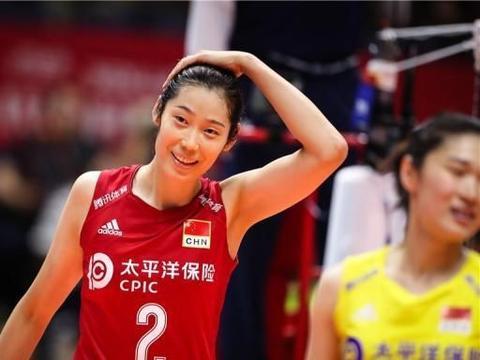 中国女排险胜巴西技术统计,袁心玥、朱婷并列全场最高分