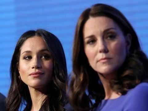 外媒每天爆料凯特和梅根不和,女王实在看不下去,第一个出面回应