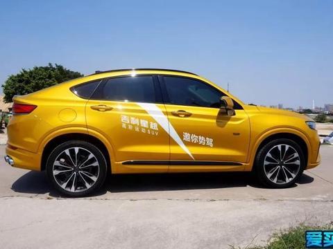 试驾吉利星越:轿跑SUV中的尖子生,每一处表现都有越级感!