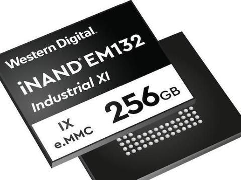 西数推出eMMC SSD:310 MB/s读取速度,最大256 GB
