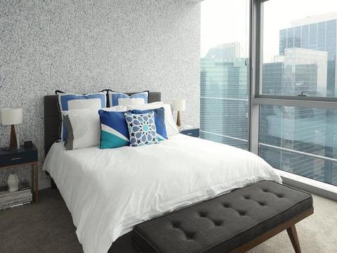93平米的简约装修两居室,空间设计合理规范,格调高实用强