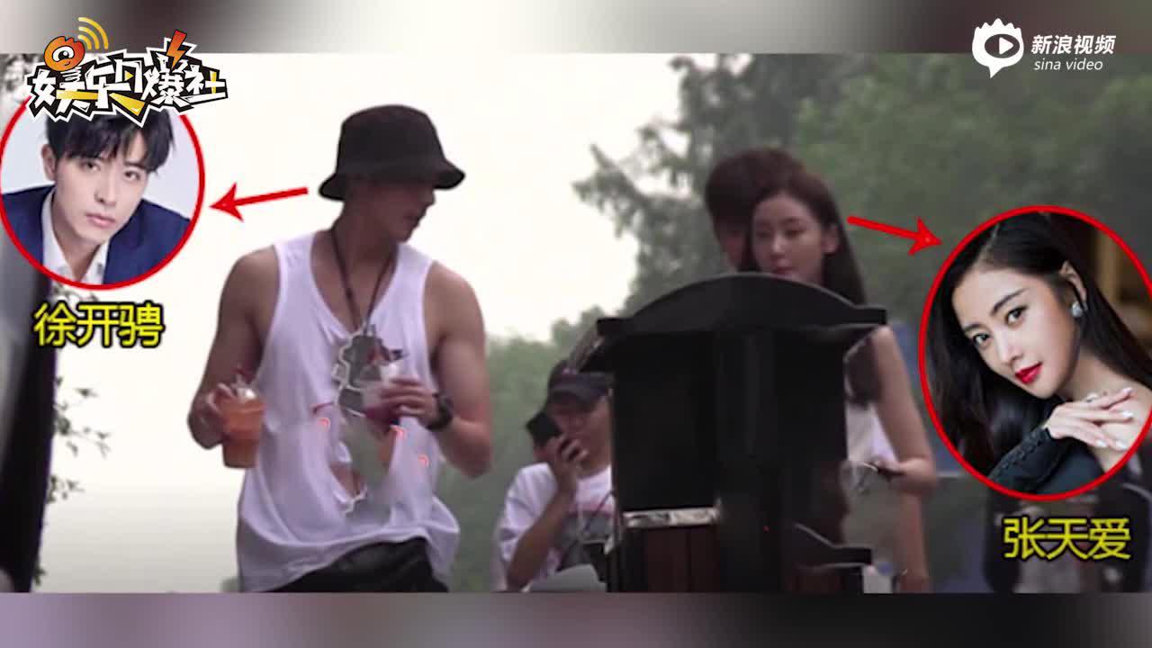 张天爱否认恋情绯闻后现身 黑色西装配棒球帽状态佳