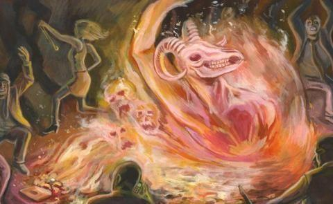 20张超现实而又富艺术感的绘画作品,你能看都画家在表达什么吗