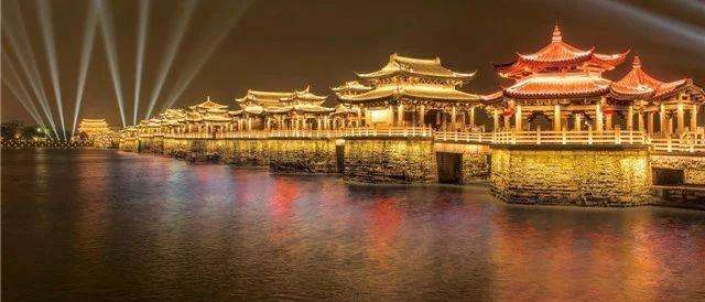 """广济桥灯光秀的""""背景山""""不见了?放心,是线路节前提升检修!!"""