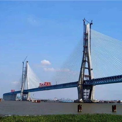 沪通长江大桥顺利合龙,预计明年通车