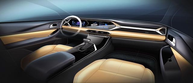 全新传祺GS4内饰设计曝光,它要用年轻感和科技感,重回销量巅峰
